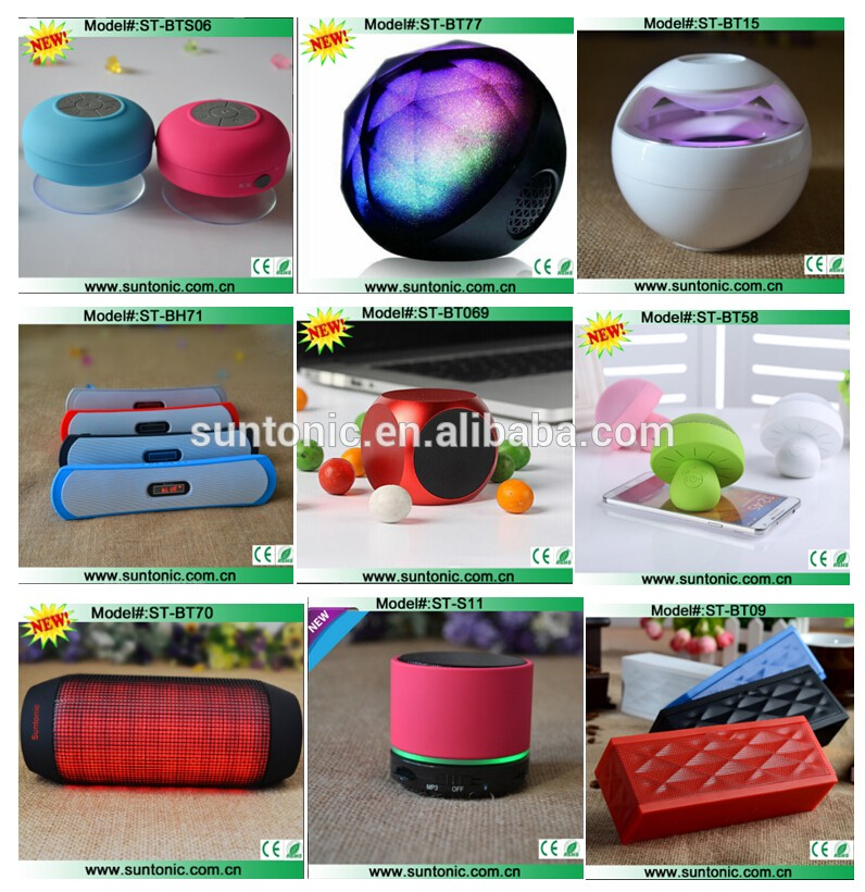 Portable Rechargeable Bluetooth Speaker , Wireless Speaker for iPhone, iPad, iPod, Samsung, Mobile Phones, Tablets
