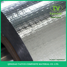 Aluminum foil faced vapor radiant barrier roof building material