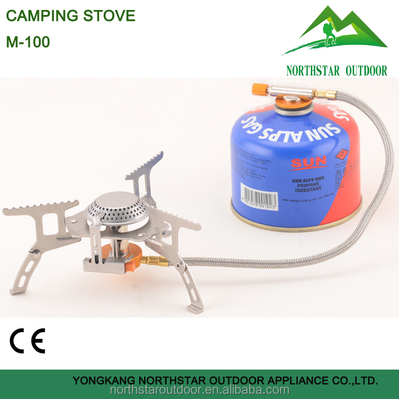 M-100 outdoor folding camping portable gas stove