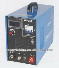 WS250 Mosfet Inverter DC TIG/MMA welding machinery