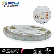 AC220v LED strip BET china 5050 Blister packaged 10mm pcb rgb led flexible strip