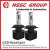 NSSC 5S-H7 crees 25w led bul air jump led car headlight manufacturer fanless car headlight 25W 3500lm Headlamp bulb