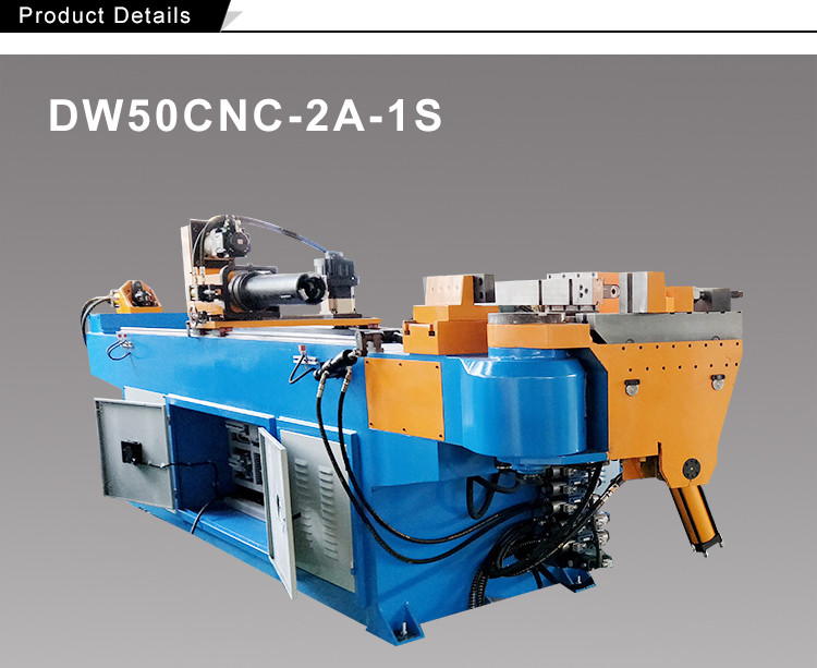 Fitting full section 3d hydraulic semi automatic cnc tube and pipe bending machine