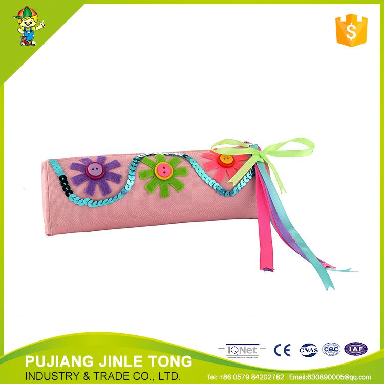 New product good quality promotion amenity canvas pen bag directly sale