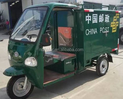 new environmental and battery power electric tricycle for cargo and express