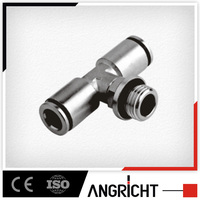 B105 Low price secure steel high pressure t fitting for fire/water hose