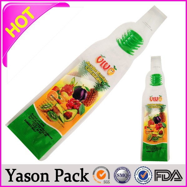 Yason ice cream film packs for juice 3l bag in box juice