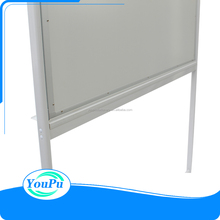 School supplies mobile magnetic whiteboard dry erase board with stand wheels