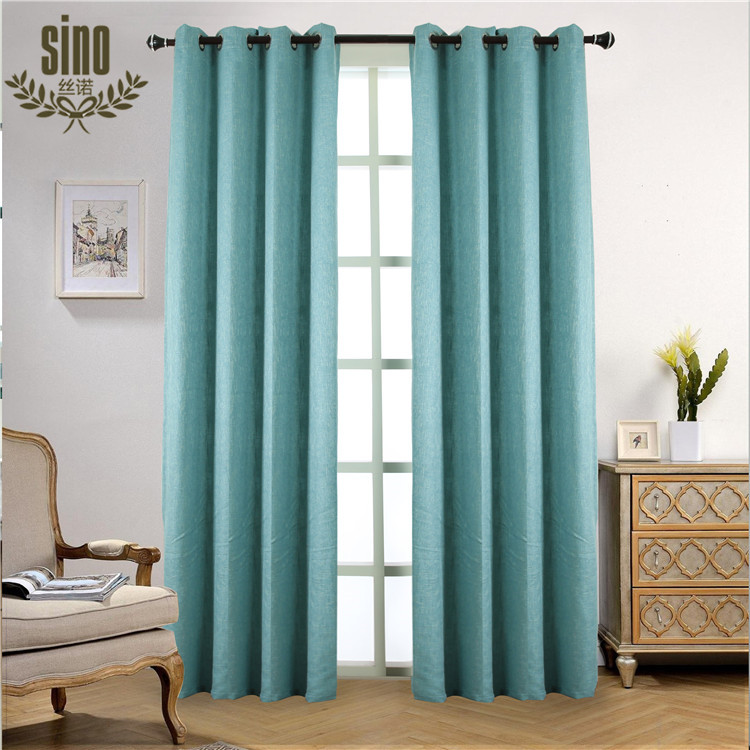 Thermal Linen Blackout Hotel Curtains Blackout