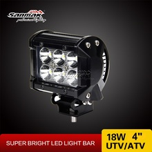 18w 4 inch CREE LED Work Light 12v led spot light for Motor and Bike AAL-0210