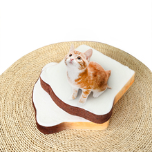 Hot selling super soft toast shape baby chair cover cute pet cats foam seat cushion case