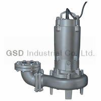 CP industrial submersible solid handling sewage pump