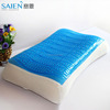 Factory comfort cooling silicon gel memory foam chips pillow