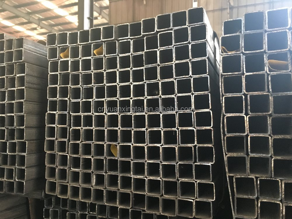 Carbon steel welded iron Square/Rectangular steel pipe China supplier