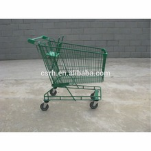 Zinc Plated Surface Handling and Unfolding Style Shopping Trolleys & Carts