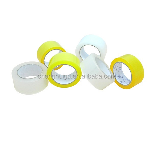 40Mic/42Mic/45Mic Bopp Adhesive Tape Packaging Clear Adhesive Yellowish Power Bopp Clear Adhesive Tape