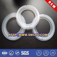 Round interface gasket for pipe fitting