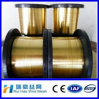 Anping High quality Alloys Brass Wire Cu65%/ brass wire for making bracelet/necklace jewelry accessory copper wire
