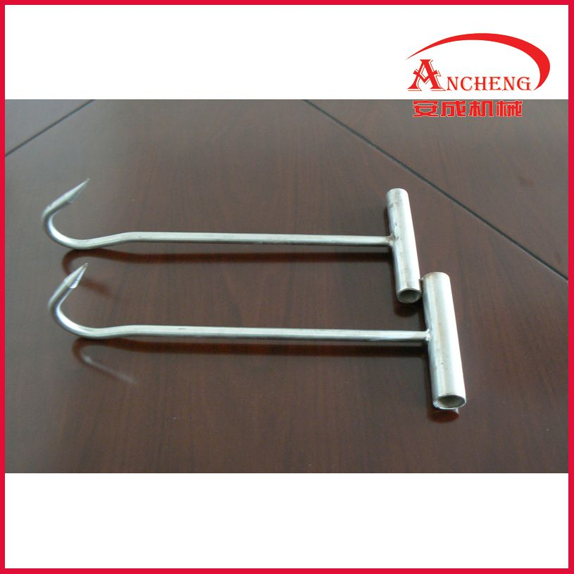 meat hook hand hook butchery tools for slaughterhouse