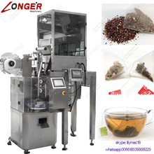 Factory Price Automatic Teabag Packaging Machinery Packing Triangle Tea Bag Machine