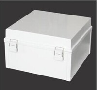 PVC Waterproof Electrical Junction Box ABS Plastic Enclosure