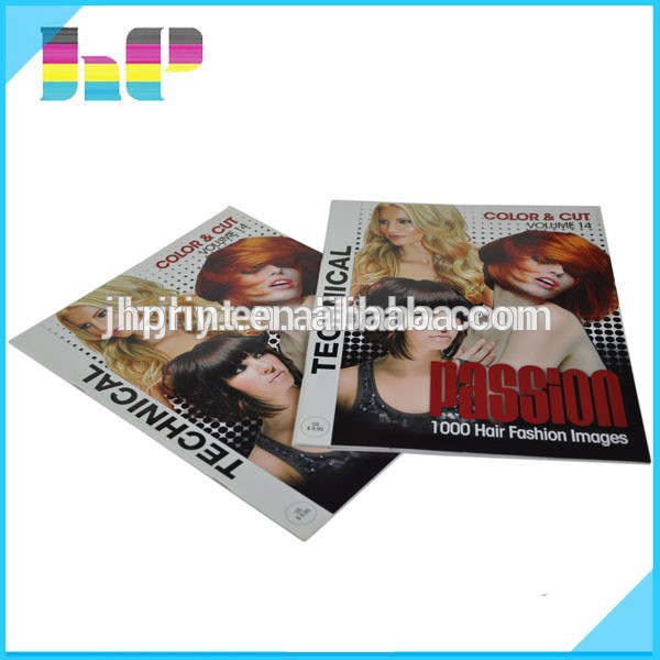 The bulk sale offset fashion magazines printing