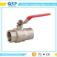 good quality long stem brass ball valve with lock