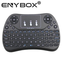 MultiFunction Mini Wireless Keyboard With Touchpad Mouse 2.4G Wireless Keyboard