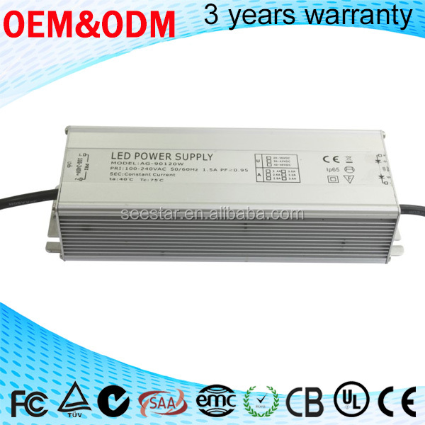 led power supply 50w 70w 100w constant current waterproof electronic led driver