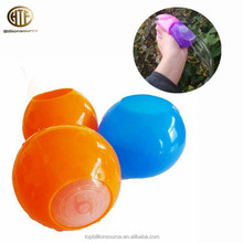 Silicone water ball toy water filled balls sticky smash water ball toy