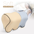 BYC Offer Smooth Comfort Viscoelastic Memory Foam Car Headrest Pillow