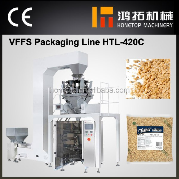 Advanced granulated peanuts packing machine