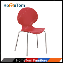 Popular Wholesale Cheap Price Plastic Metal Chrome Ant Chair for Dining