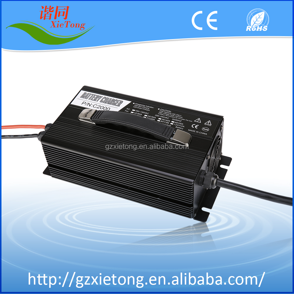 S2500 high power Electric Car Golf Cart Intelligent 48v Car Battery Charger