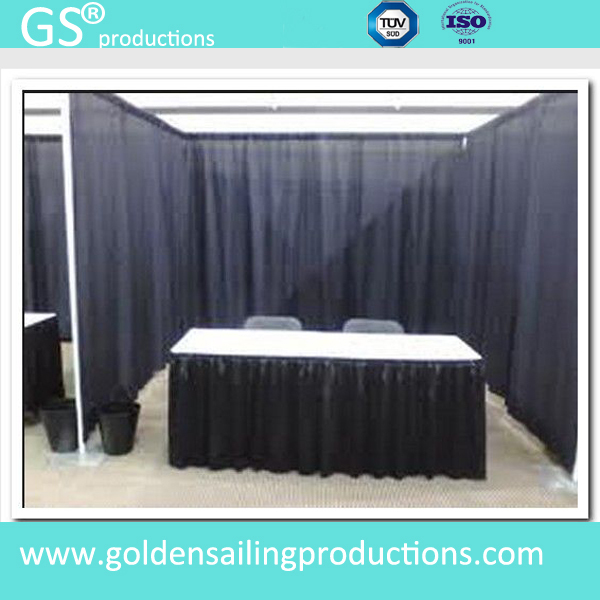 Party decoration pipe and drape backdrop, cheap pipe drape for sale