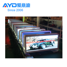 Full Color 3G/GPS/WIFI High Quality Taxi Top Advertising LED Display Sign
