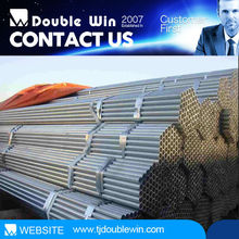 Rectangular / Square Steel Pipe/Tube/Greenhouse frame ms gi galvanized steel pipe