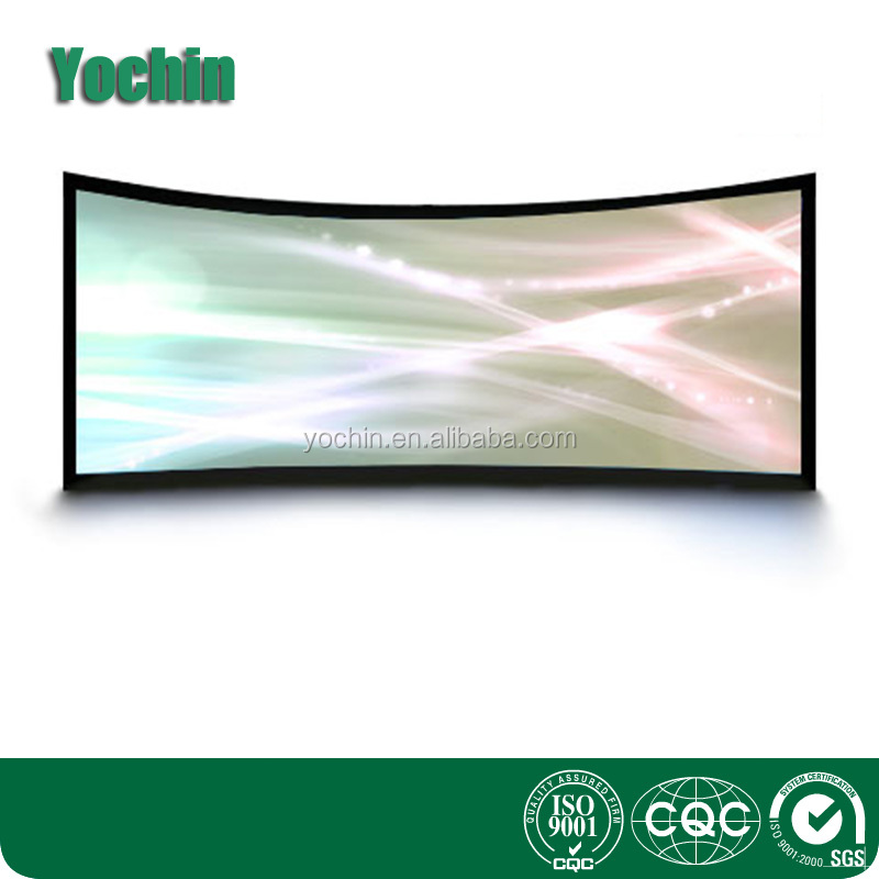 2017 Home curved fastfold projection screen used in office