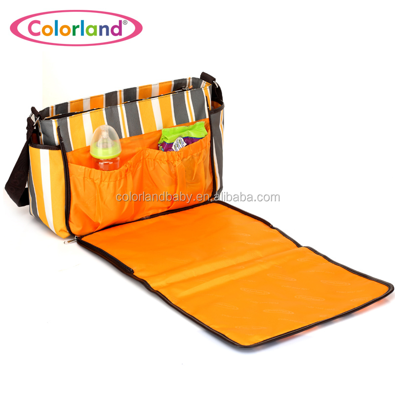 COLORLAND New Arrival Diaper Bag Baby Changing Multi-Function Messenger Bags