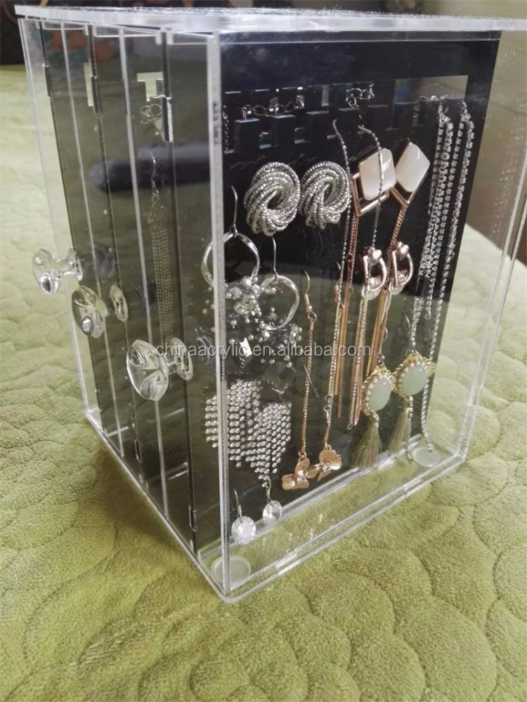 New Fashion Acrylic Earring Display Stands Jewelry Holder