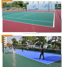 Removable Plastic Sports Court Floor Covering