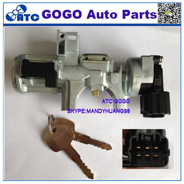 High quality CAR IGNITION SWITCH WITH KEY 6PIN for I SUZU