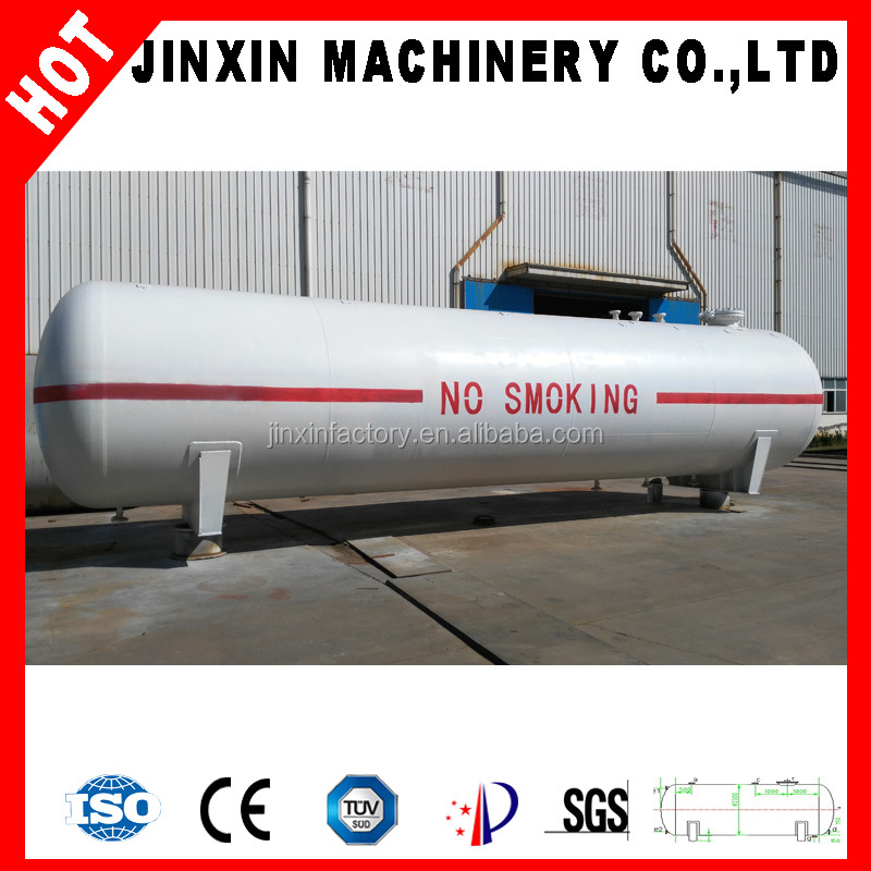Hot sale ISO certificate LPG fuel storage tank with the best value price