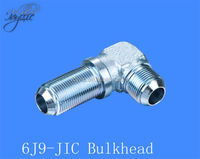 Hydraulic JIC SAE J514 Bulkhead Male fitting/adaptor