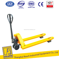 Industry used adjustable heavy duty manual pallet truck 5 tons