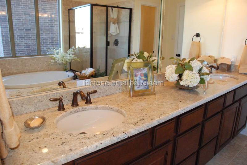 Bathroom Countertops Product : Natural stone shivakashi bathroom used granite countertop