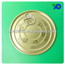 603 ( 153MM) Tinplate Easy Open End with printed words