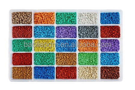 Sport surfacing raw materials epdm rubber granules