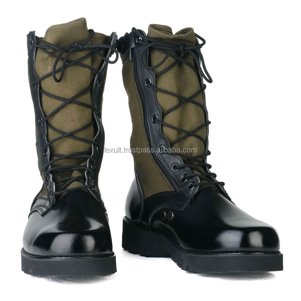Militatry Leather Boots