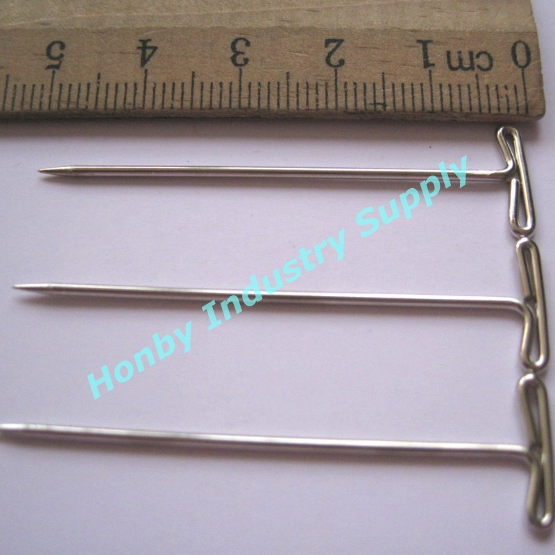 Various Size Metal Flat Head T Shape Straight Pins